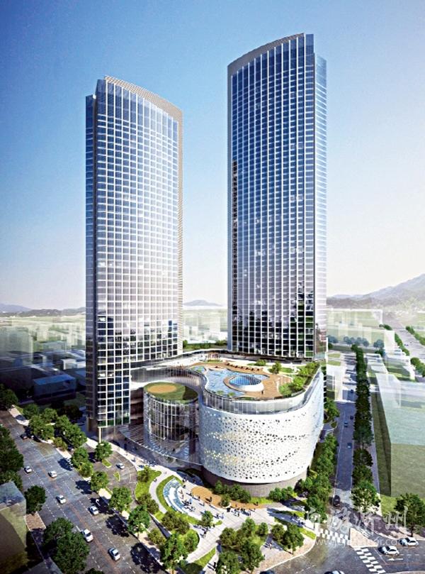 """2014年3月份,梦想大厦的设计图,与如今的图纸相比,明显要""""苗条"""""""